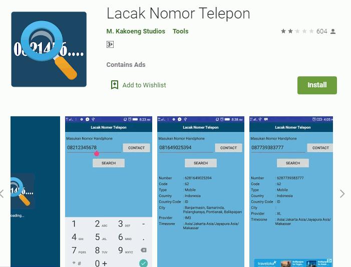 Cara Melacak No Telepon Dengan Aplikasi