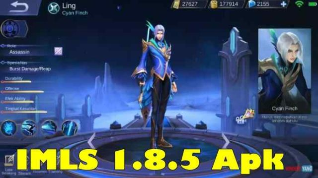 Download IMLS 1.8.5 Apk Unlock Skin Mobile Legends