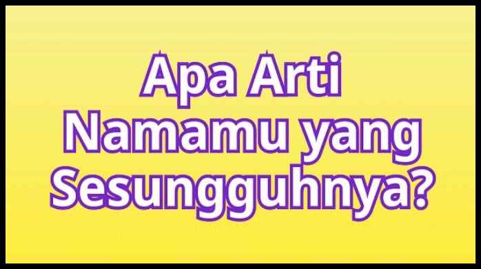 Fact Of Your Name Apk Indonesia