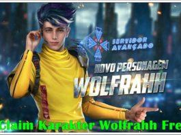 Cara Claim Karakter Wolfrahh Free Fire