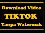 Cara Download Video Tiktok Tanpa Watermak