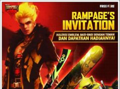 Event Rampage's Invitation Free Fire