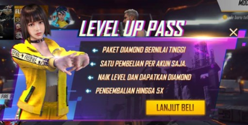 Event Level Up Pass FF
