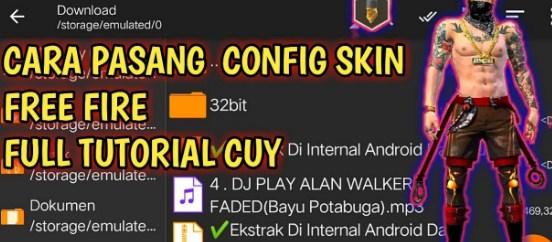 Download Config FF Skin