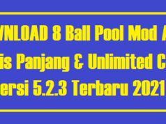 8 Ball Pool Mod Apk Garis Panjang