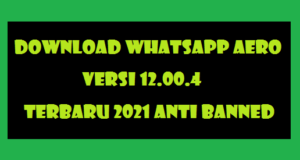 Download Whatsapp Aero Apk