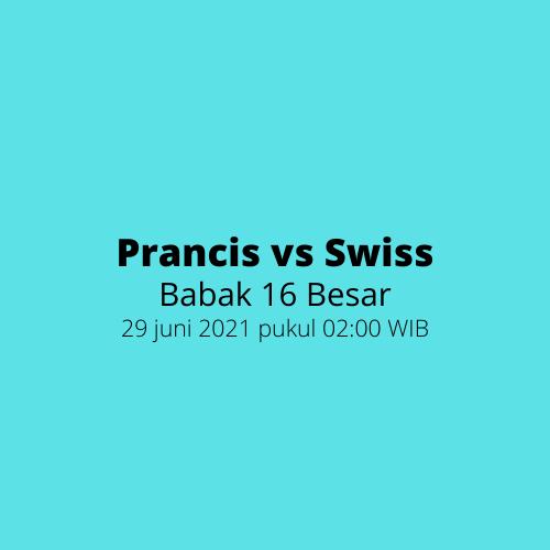 EURO 2020 - Babak 16 Besar, Prancis vs Swiss