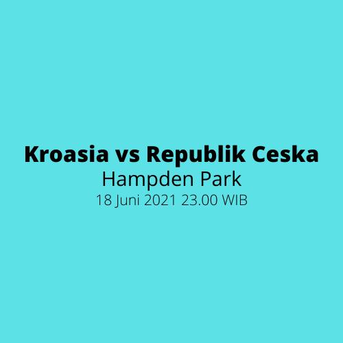 Hampden Park - Kroasia vs Republik Ceska