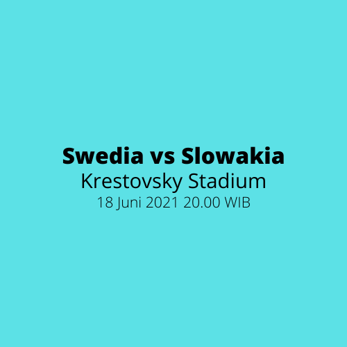Krestovsky Stadium - Swedia vs Slowakia