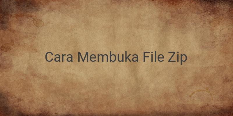 Cara Membuka File ZIP yang Dipassword dengan Perangkat Android