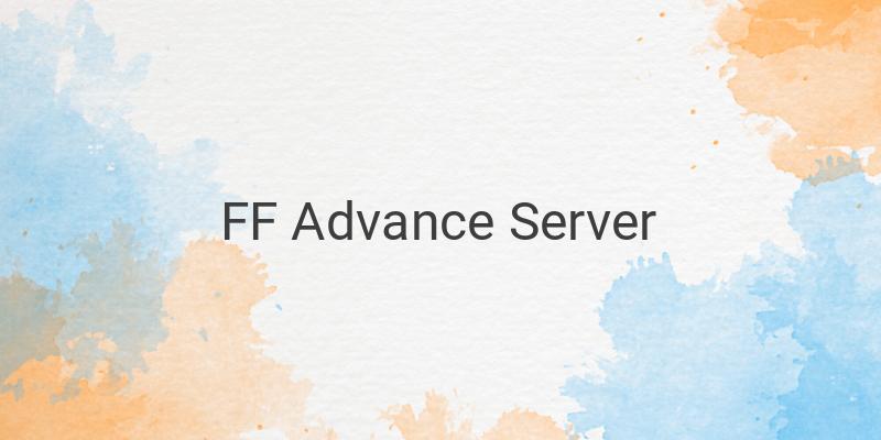 Apa Itu FF Free Fire Advance Server dan Cara Bermainnya?