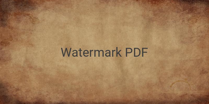 4 Cara Menghilangkan Watermark di file PDF